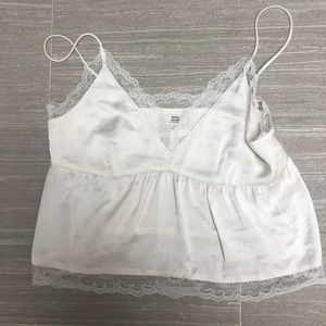 New without tag cropped camisole size xs